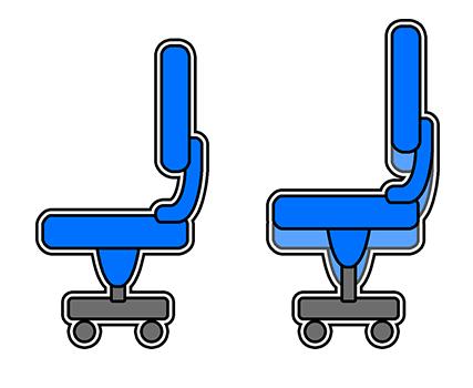 Bureaustoel Met Verstelbare Rugleuning.Alle Functies Van Een Bureaustoel Albeka Kantoor En