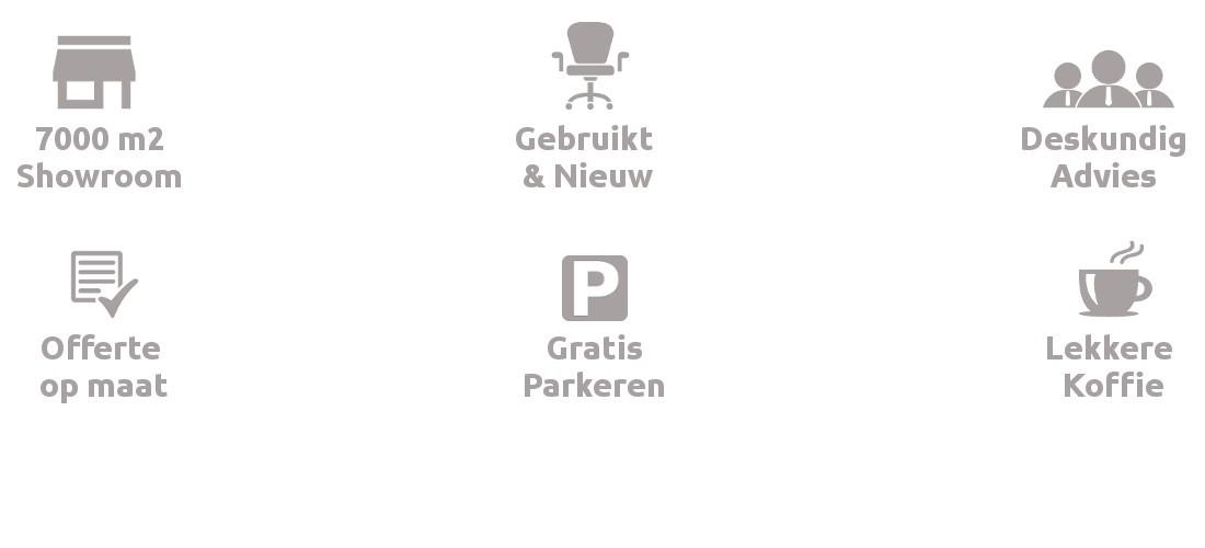 Voordelen Showrooms Albeka 7000m2
