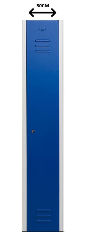Kastje van de locker 30 cm breed