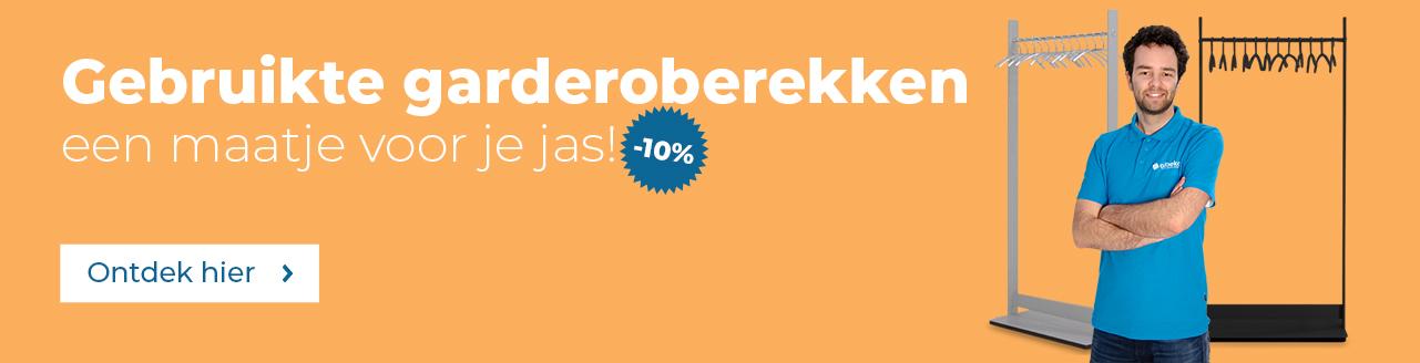 -10% op garderoberekken